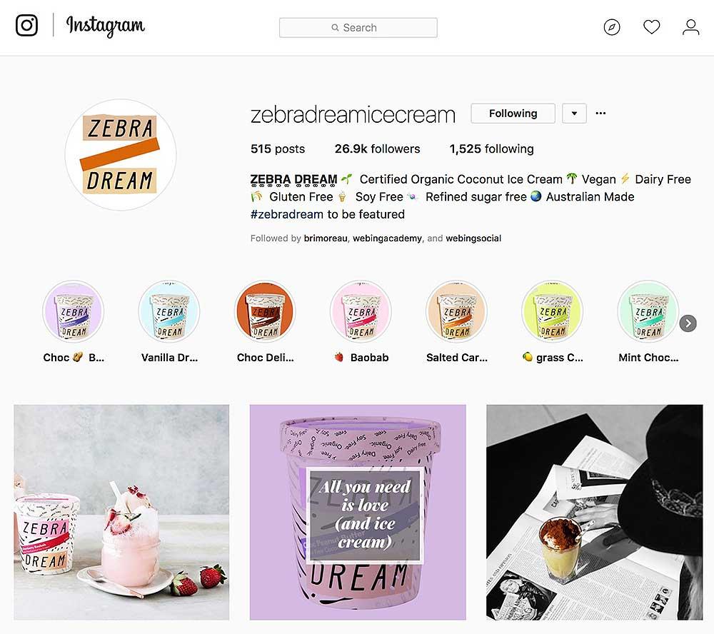 gestione profili instagram aziende
