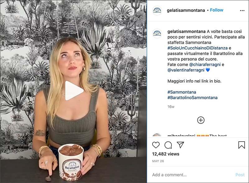 giveaway instagram sammontana