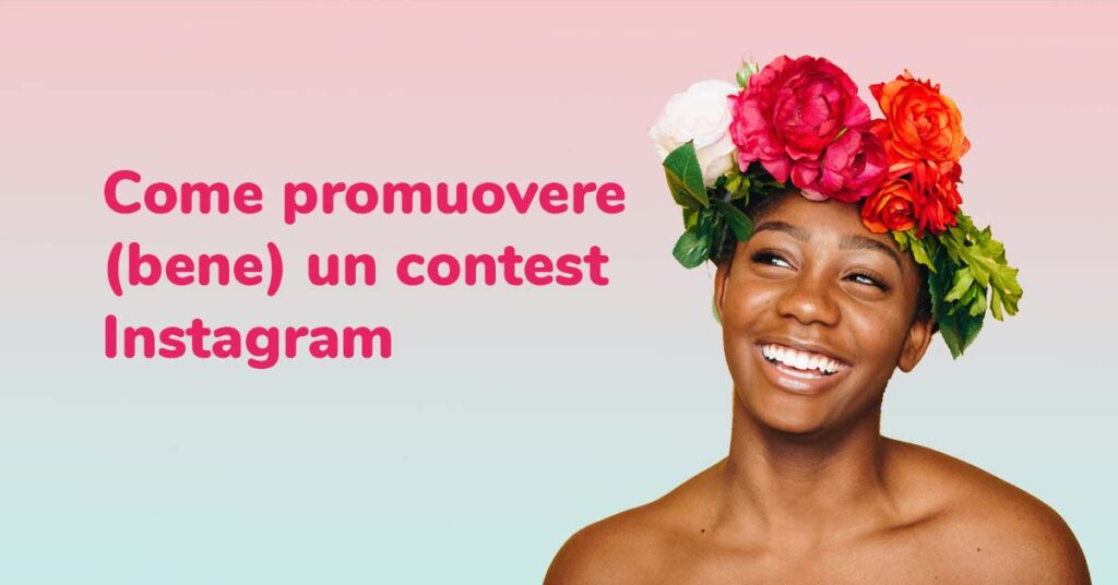 come promuovere contest instagram