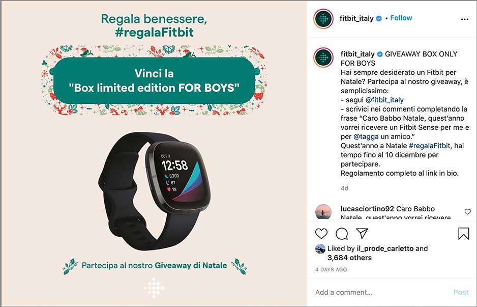 giveaway fitbit