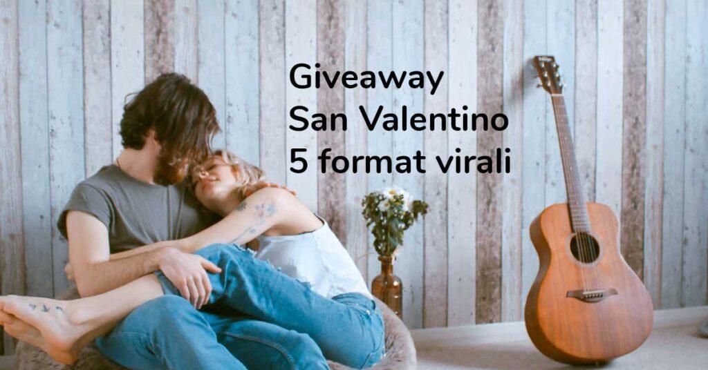 giveaway san valentino