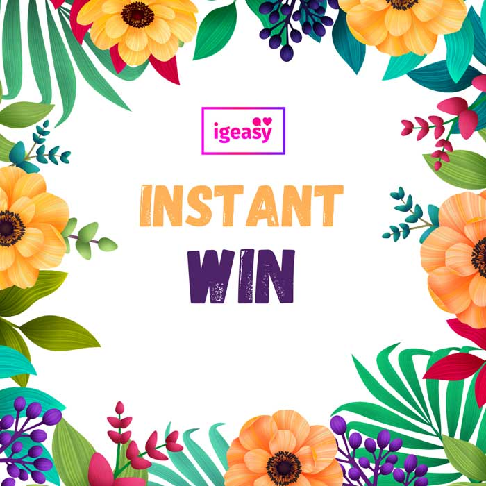 giveaway instant win
